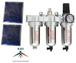 """1/2"""" COMPRESSED AIR FILTER REGULATOR / DESICCANT DRYER / COA"""