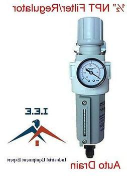 """1/2"""" NPT Air Compressor Filter Pressure Relief Regulator Com"""