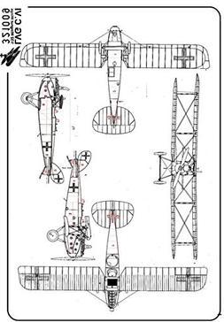 HGW 1:32 Nail Set LVG C.VI for Wingnut Wings - Detail Set #3