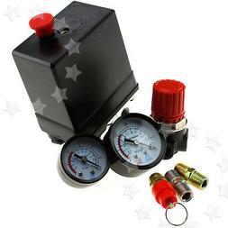 "1/4"" Air Compressor Pressure Control Switch*Valve Manifold R"