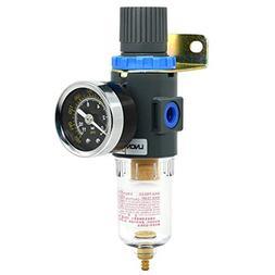 """1/4""""NPT Air Filter Pressure Regulator, Water-Trap Air Tool C"""