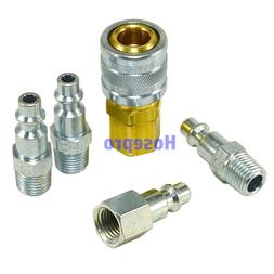 1/4 NPT Air Hose Fittings M Style Tool Line Compressor Const