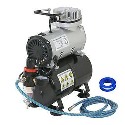 1/5 HP Airbrush Air Brush Compressor Kit With 3L Tank Paint