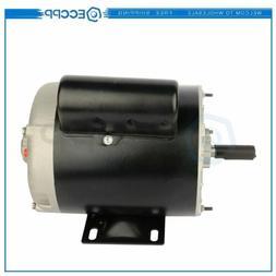 1 HP Air Compressor Electric Motor 56 Frame 3450 RPM Single