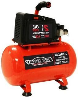 Tool Shop 1 Hp Electric Construction Air Compressor  2-gallo