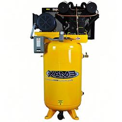7.5 HP 80 Gallon 3PH Vertical 2 Stage Stationary Air Compres