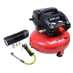 PowRyte Basic 103338 3 Gallon Oil-Free Pancake Portable Air