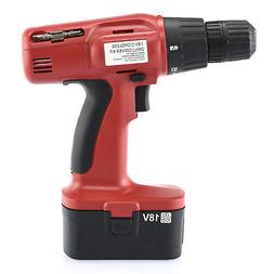Hiltex 10542 18V Cordless Drill and Driver | Includes Charge