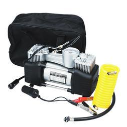 12V 150 PSI Double Cylinder Air Compressor Pump High-Power C
