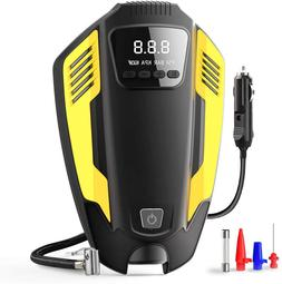 12V 150PSI Portable Car Air Compressor Pump,Digital Tire Inf