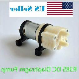 12V DC R385 Mini Aquarium Pump Fish Tank Motor for Diaphragm