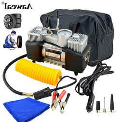 12v heavy duty portable air compressor car