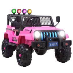 12v kids ride on car jeep wrangler