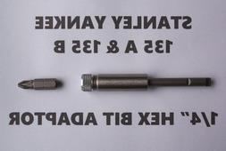 135A & 135B STANLEY YANKEE SCREWDRIVER -