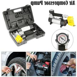150psi 12v Car Van Tyre Tire Inflator Pump Heavy Duty Portab