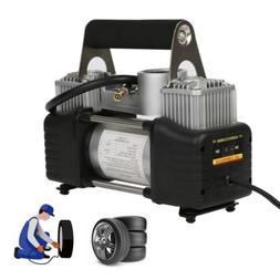 150psi 12v portable mini air compressor auto