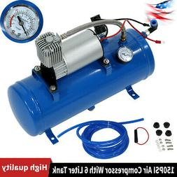 150psi DC 12V Air Compressor With 6 Liter Tank for Air Horn