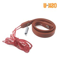 15mm width Silicon Heater Strip 430/450/480mm length 220V Fr