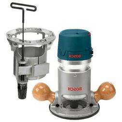 Bosch 1617EVSTB 2-1/4 HP Fixed-Base Electronic Router and Ro