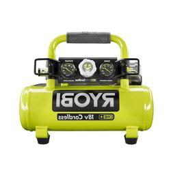 RYOBI 18V ONE+ Cordless 1 Gal. Portable Air Compressor 120 M