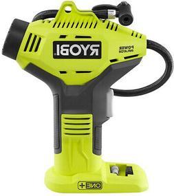 Ryobi 18V Portable Air Compressor Cordless Power Inflator Bi