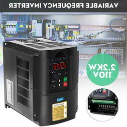 2.2KW 110V Single To 3 Phase VFD VSD Variable Frequency Driv
