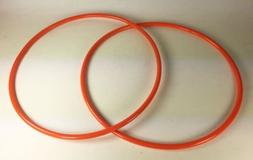 2 Drive Belts Round Urethane for Central Machinery BandSaw M