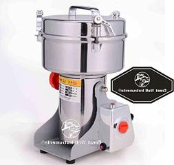 CGOLDENWALL 1000g stainless steel electric grain grinder Mil