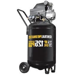 21 Gal 2½ HP 125 PSI Cast Iron Vertical Air Compressor Powe