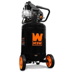 Wen Portable Vertical Air Compressor 2202 Oil-Lubricated 20-