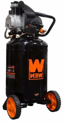 WEN 2202 20-Gallon Oil-Lubricated Portable Vertical Air Comp