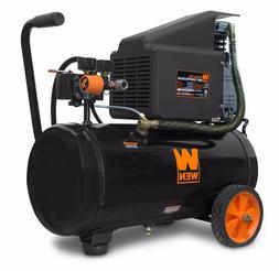 WEN 2287 6-Gallon Oil-Lubricated Portable Horizontal Air Com