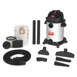 DAYTON 22XJ47 Wet/Dry Vacuum, 6 HP, 12 gal., 120V