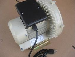250 Watt 115V  REGENERATIVE AIR BLOWER VACUUM PUMP COMPRESSO
