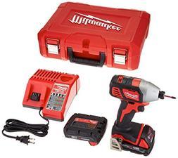 """Milwaukee 2656-22CT M18 1/4"""" Hex Impact Driver Kit"""