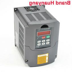 1.5KW 110V 2HP 13A VARIABLE FREQUENCY INVERTER DRIVE VFD CE