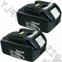 2pc Genuine Makita BL1830B 18V LXT Lithium-Ion Battery Pack