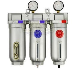 "3/4"" Inline Compressed Air Filter Desiccant Dryer Moisture S"
