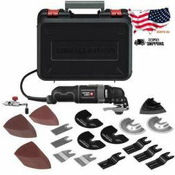 Branded 3-Amp Oscillating Multi-Tool Kit with 52 Accessories