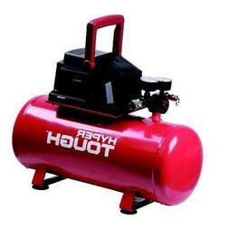 3 Gallon Air Compressor Red Hyper Tough Portable Oil Free Ho