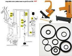 3 O-ring Kits for Bostitch MIII Flooring Nailer MIIIFS MIII8