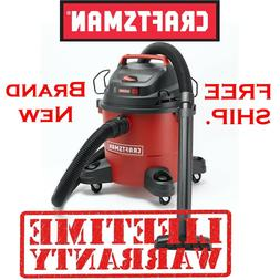 Craftsman 6 Gallon 3 Peak HP Wet/Dry Vac Vacuum Cleaner w/ A