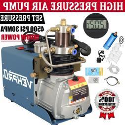30MPa Air Compressor Pump 110V PCP Electric 4500PSI High Pre