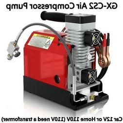 30MPa Air Compressor Pump 12V PCP Electric 4500PSI High Pres