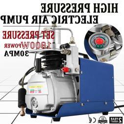30MPA 4500PSI High Pressure Air Compressor PCP Airgun Scuba