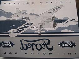 Eastwood 322000 Ford Tri-motor Airplane Coin Bank Die Cast