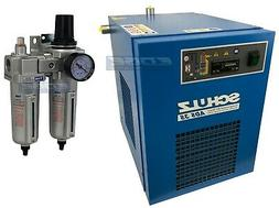 SCHULZ 35 CFM REFRIGERATED COMPRESSED AIR COMPRESSOR DRYER 1