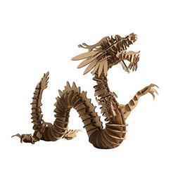 Paper Maker 3D Jigsaw Puzzle Dragon DIY Craft Gifts Home Dec