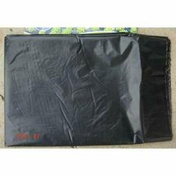 LAVZAN 4.6 x 16FT Black Mulch/Weed Barrier/Concrete Moisture