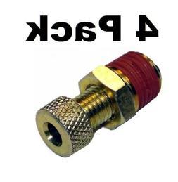 "Air Compressor Tank Drain Valve 1/4"" Brass NPT Porter Cable"